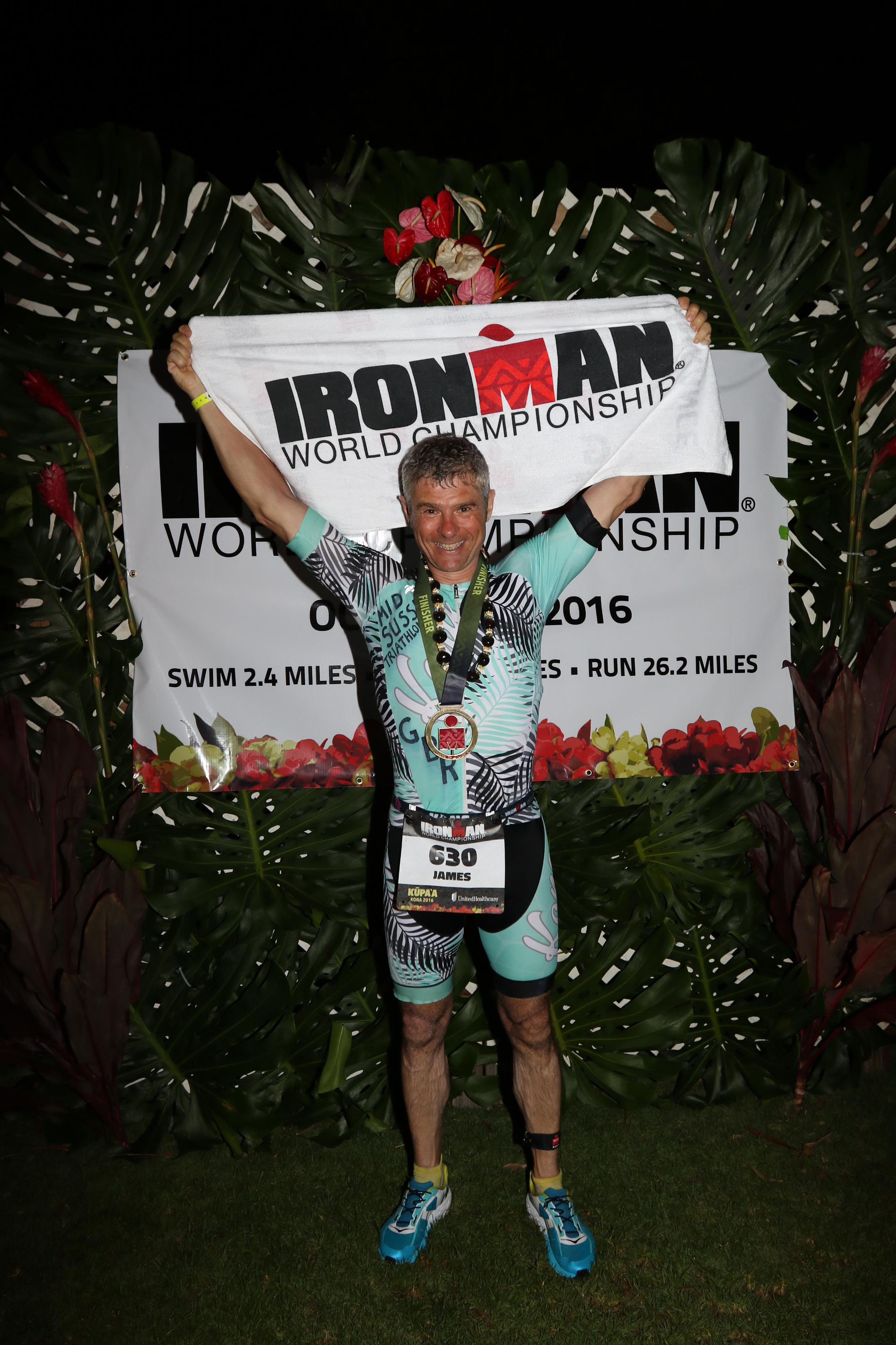Jim Graham's Ironman Kona 2016 Race Report