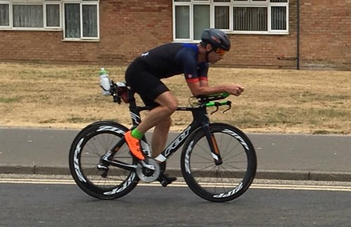 Doug Mac Taggart Training For Maastricht Ironman