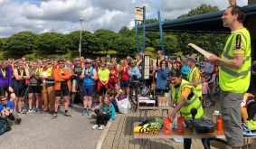 Sun shines for Mid Sussex Sprint Triathlon